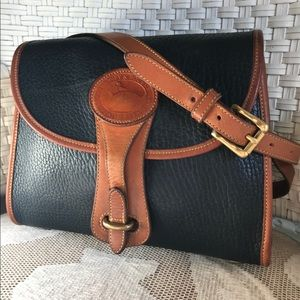 Vintage Dooney & Bourke Navy Medium Essex